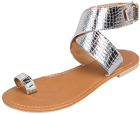 sandalias planas mujer plateadas, sandalias planas mujer colores, sandalias planas mujer doradas, sandalias planas mujer brillantes, sandalias planas mujer fiesta